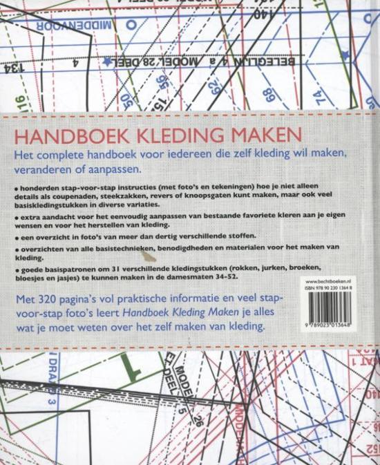 Kleding Maken.Bol Com Handboek Kleding Maken Alison Smith 9789023013648 Boeken