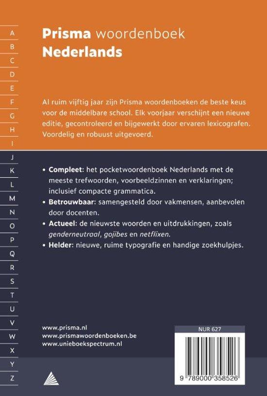 verklarend woordenboek nederlands