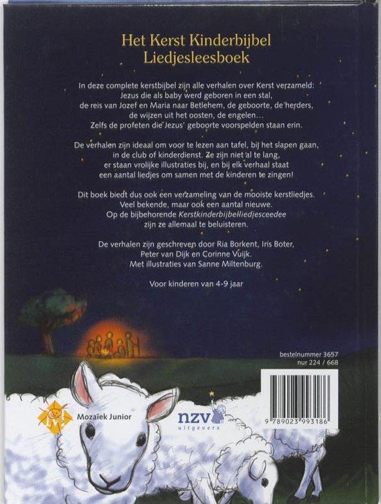 Bol Com Het Kerst Kinderbijbel Liedjesleesboek R Borkent