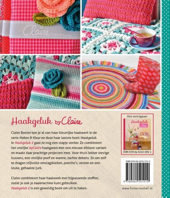 Bolcom Haak Geluk By Claire 2 Claire Boeter 9789462501010 Boeken