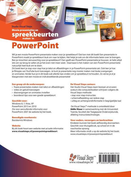 mooie presentaties en spreekbeurten maken in powerpoint