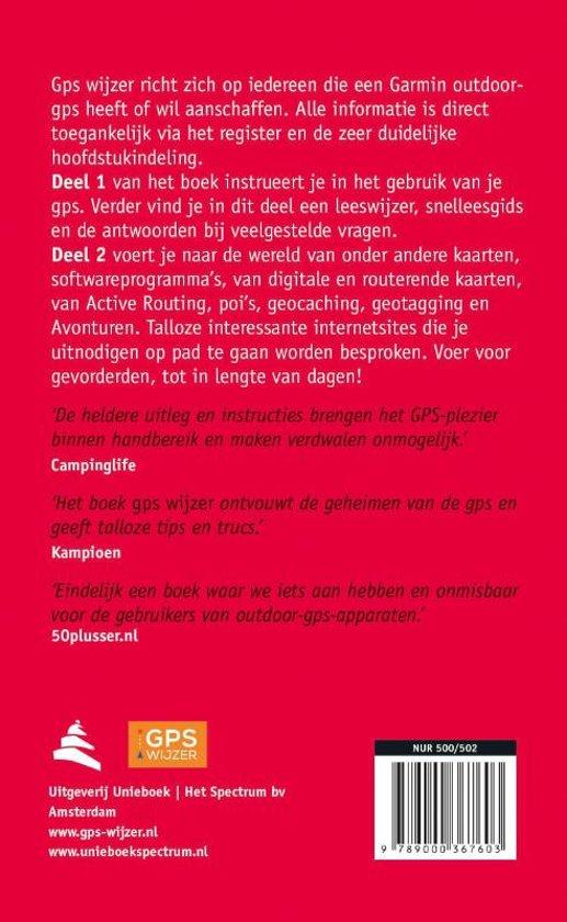 58e30877471c5c bol.com | GPS Wijzer, Joost Verbeek | 9789000367603 | Boeken