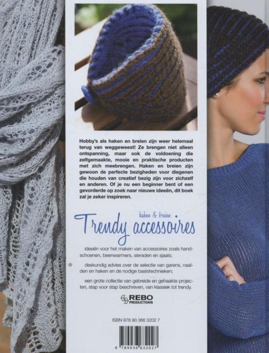 Bolcom Haken En Breien Trendy Accessoires Jaroslava Dovcoca