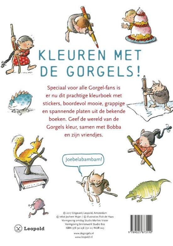 Bol Com Boek Gorgels Kleurboek Wpg Kindermedia Speelgoed