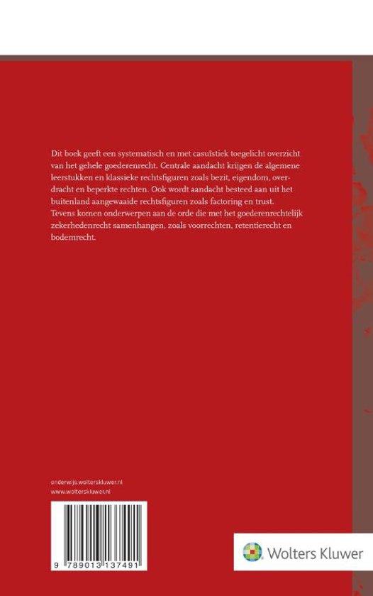 Bekend bol.com | Goederenrecht | 9789013137491 | H.J. Snijders | Boeken ZP-11