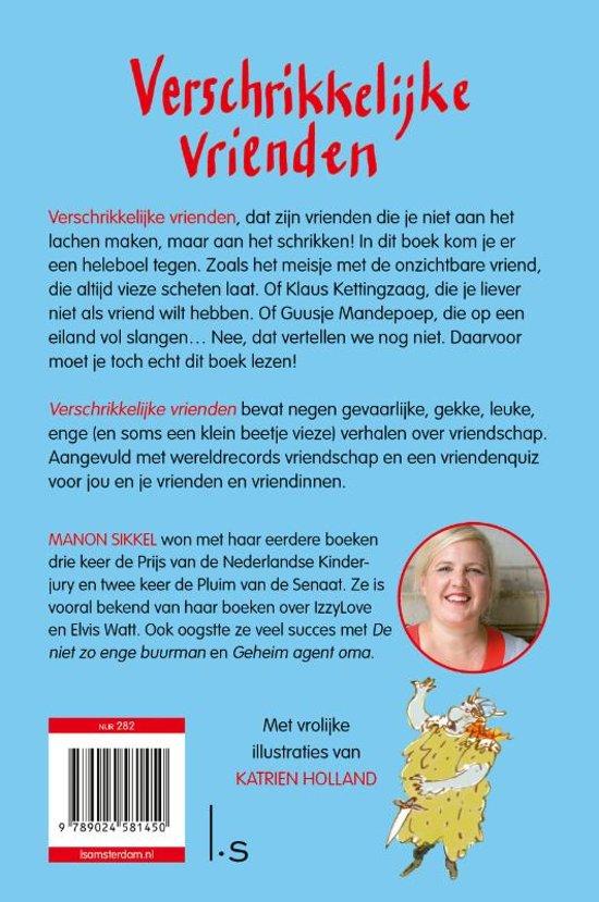 Beroemd bol.com | Verschrikkelijke vrienden, Manon Sikkel | 9789024581450 #TZ08