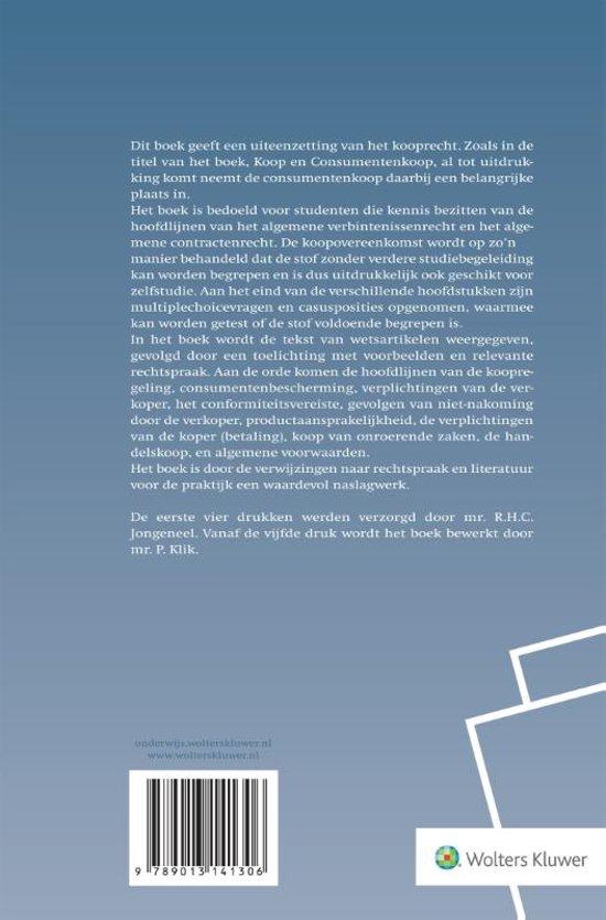 Bekend bol.com | Koop en consumentenkoop | 9789013141306 | P. Klik | Boeken VO-19