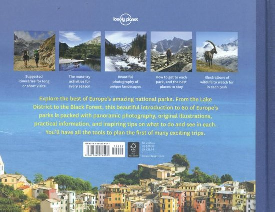 Bol Com Lonely Planet National Parks Of Europe Lonely border=