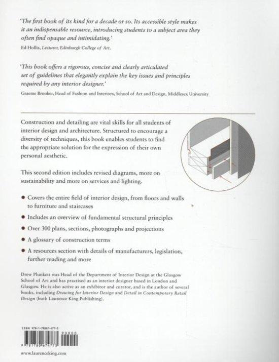 Bolcom Construction And Detailing For Interior Design Second