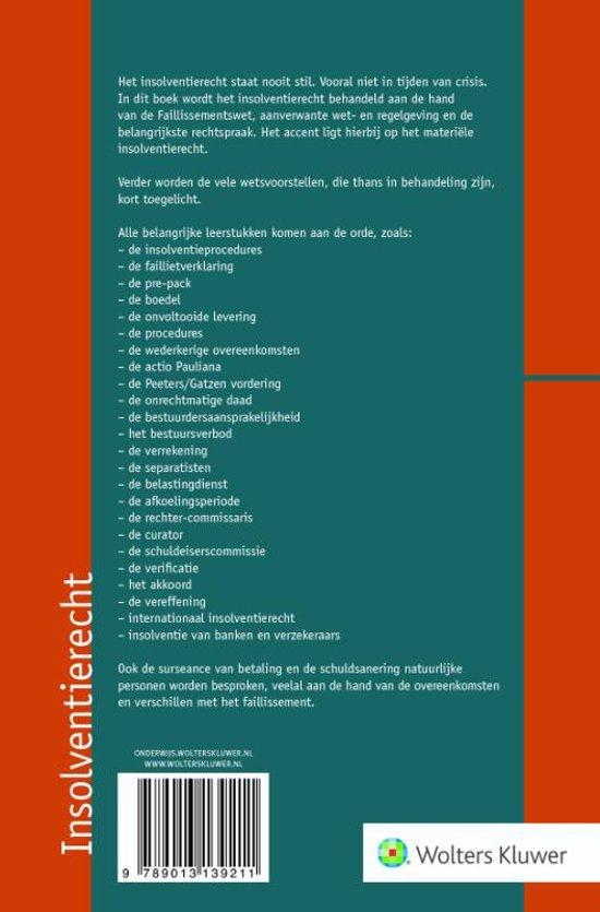 Beroemd bol.com | Insolventierecht | 9789013139211 | N.J. Polak. | Boeken QG-77