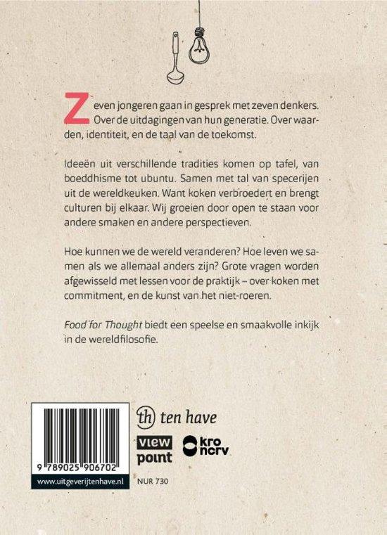 Filosofie Aan De Keukentafel.Bol Com Food For Thought Jeroen Hopster 9789025906702