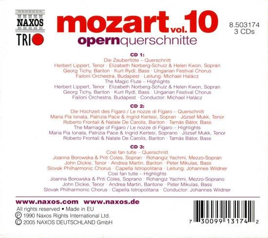 Lippert/Norberg/Kwon/Ungarian Festi - Opera Highlights (Mozart Volume 10)