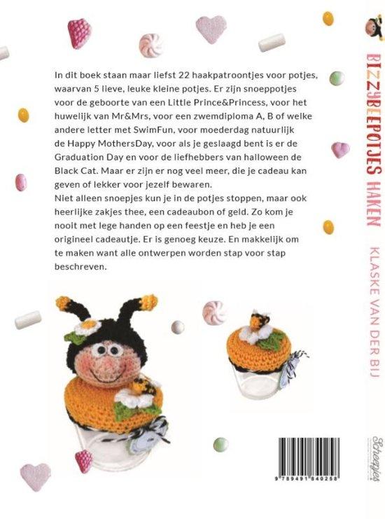 Bolcom Bizzy Bee Potjes Haken Klaske Van Der Bij 9789491840258