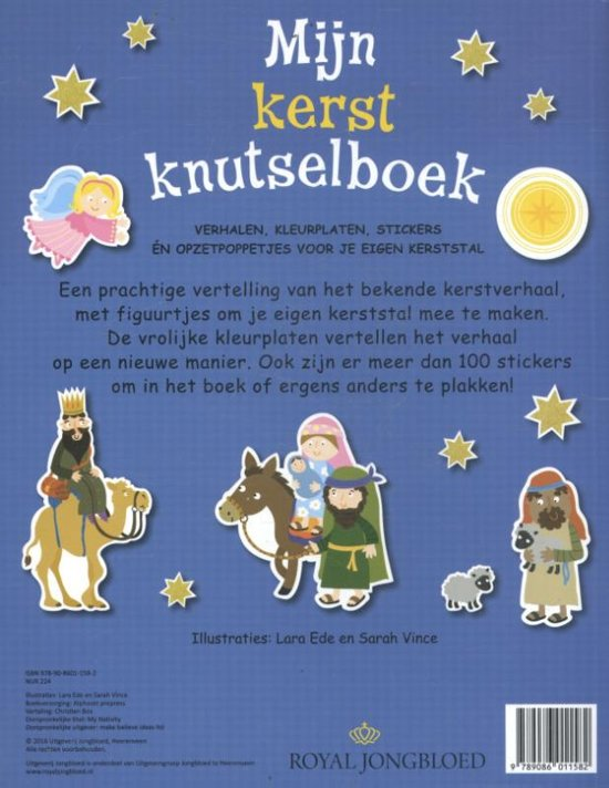 Kerststal Figuren Kleurplaten.Bol Com Mijn Kerstknutselboek Diverse Auteurs