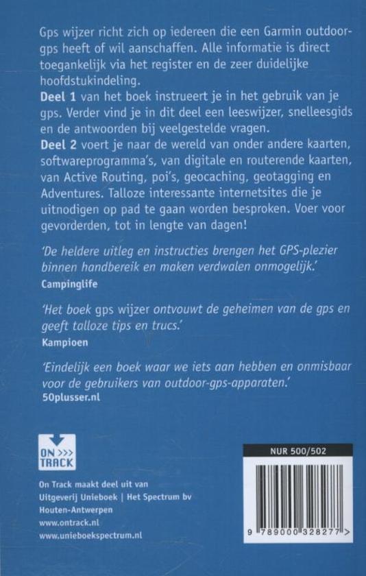 9e7535f87710f1 bol.com | GPS wijzer, Foeke Jan Reitsma | 9789000328277 | Boeken
