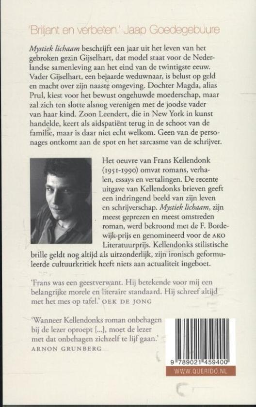 Bolcom Mystiek Lichaam Frans Kellendonk 9789021459400
