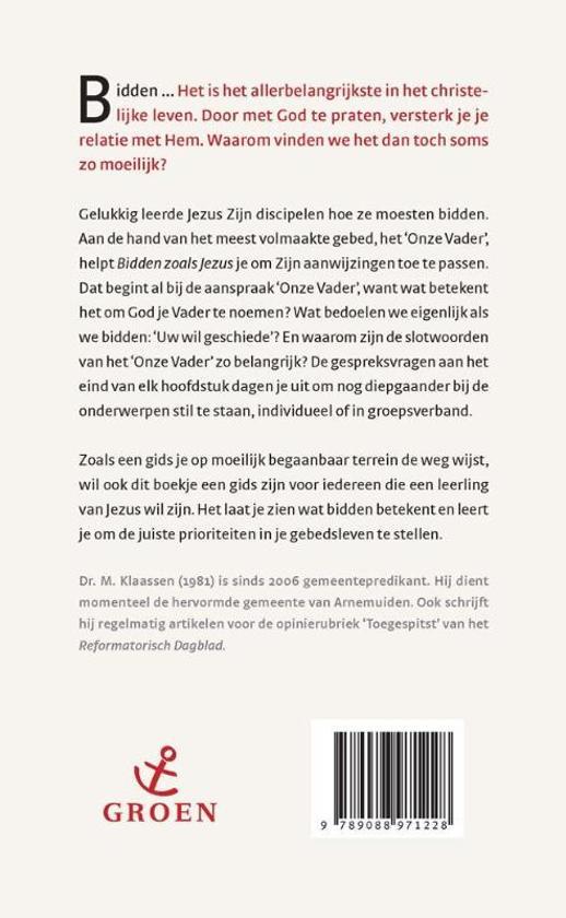 Super bol.com | Bidden zoals Jezus, M. Klaassen | 9789088971228 | Boeken #XU75