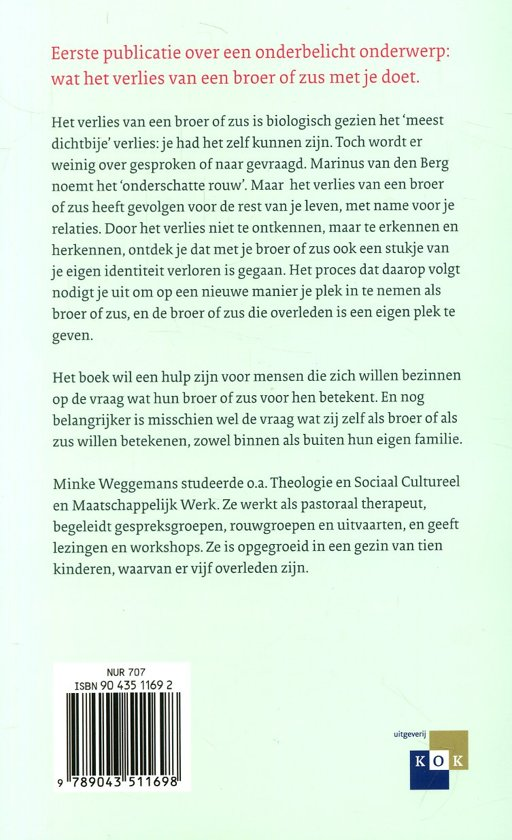 Bolcom Broederziel Alleen Minke Weggemans