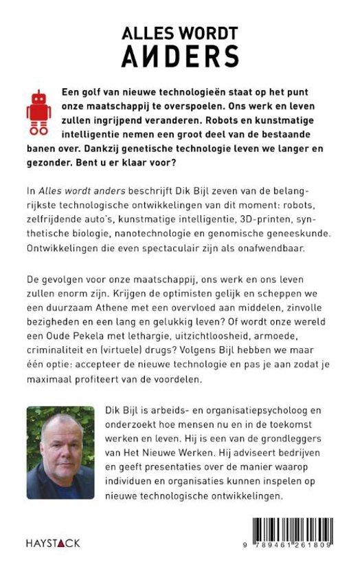 Bol Com Alles Wordt Anders Dik Bijl 9789461261809 Boeken