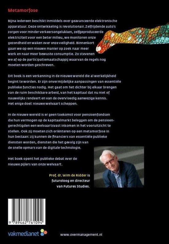 Bol Com Metamorfose 9789462761094 Wim De Ridder Boeken