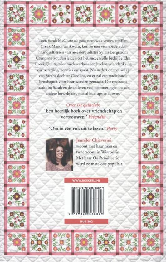 De Bruidsquilt Jennifer Chiaverini.Bol Com De Bruidsquilt Jennifer Chiaverini 9789022566879 Boeken