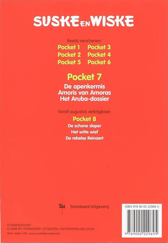 Bol Suske En Wiske 7 Pocket 7 Willy Vandersteen