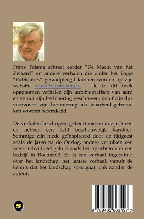 Uitgelezene bol.com | Verhalen van vroeger, Frans Tolsma | 9789462663497 | Boeken RQ-71