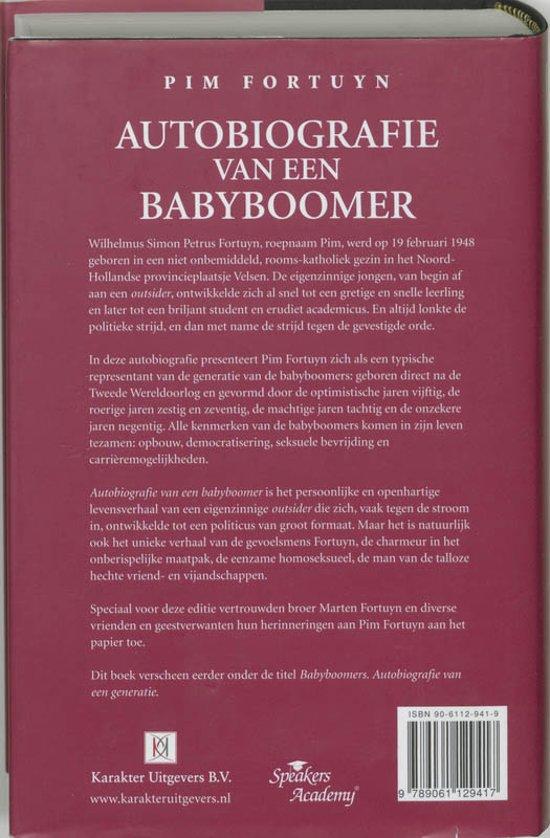 Bol autobiografie van een babyboomer pim fortuyn bol autobiografie van een babyboomer pim fortuyn 9789061129417 boeken fandeluxe Images