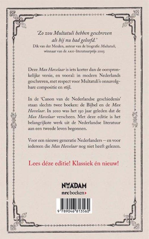 Bolcom Max Havelaar Multatuli 9789046813560 Boeken