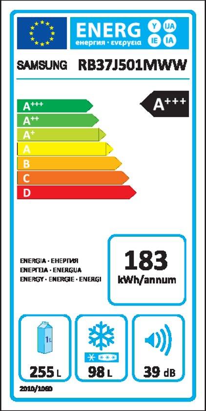 Samsung RB37J501MWW/EF