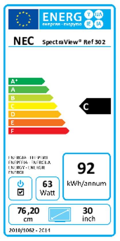 """NEC SpectraView Reference 302 29.8"""" AH-IPS Zwart"""