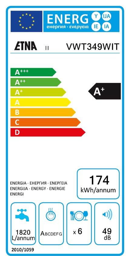 Etna VWT349WIT