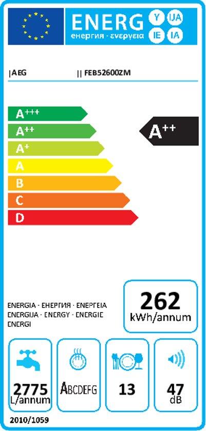 AEG FEB52600ZM