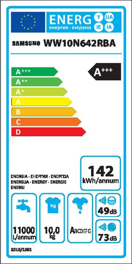 Samsung WW10N642RBA/EN