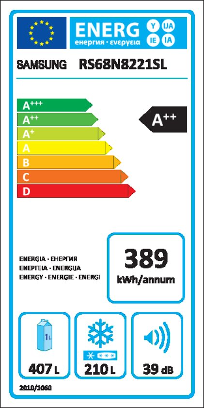Samsung RS68N8221SL/EF