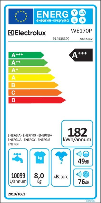 Electrolux WE170P - myPRO - Wasmachine