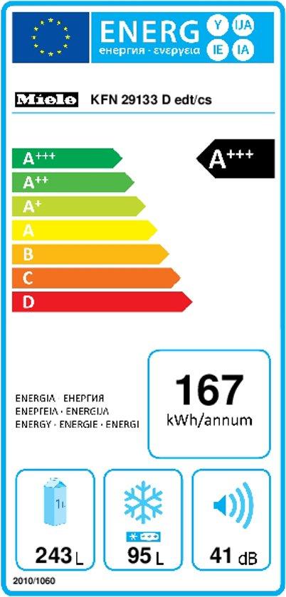 Miele KFN 29133 D RVS CleanSteel