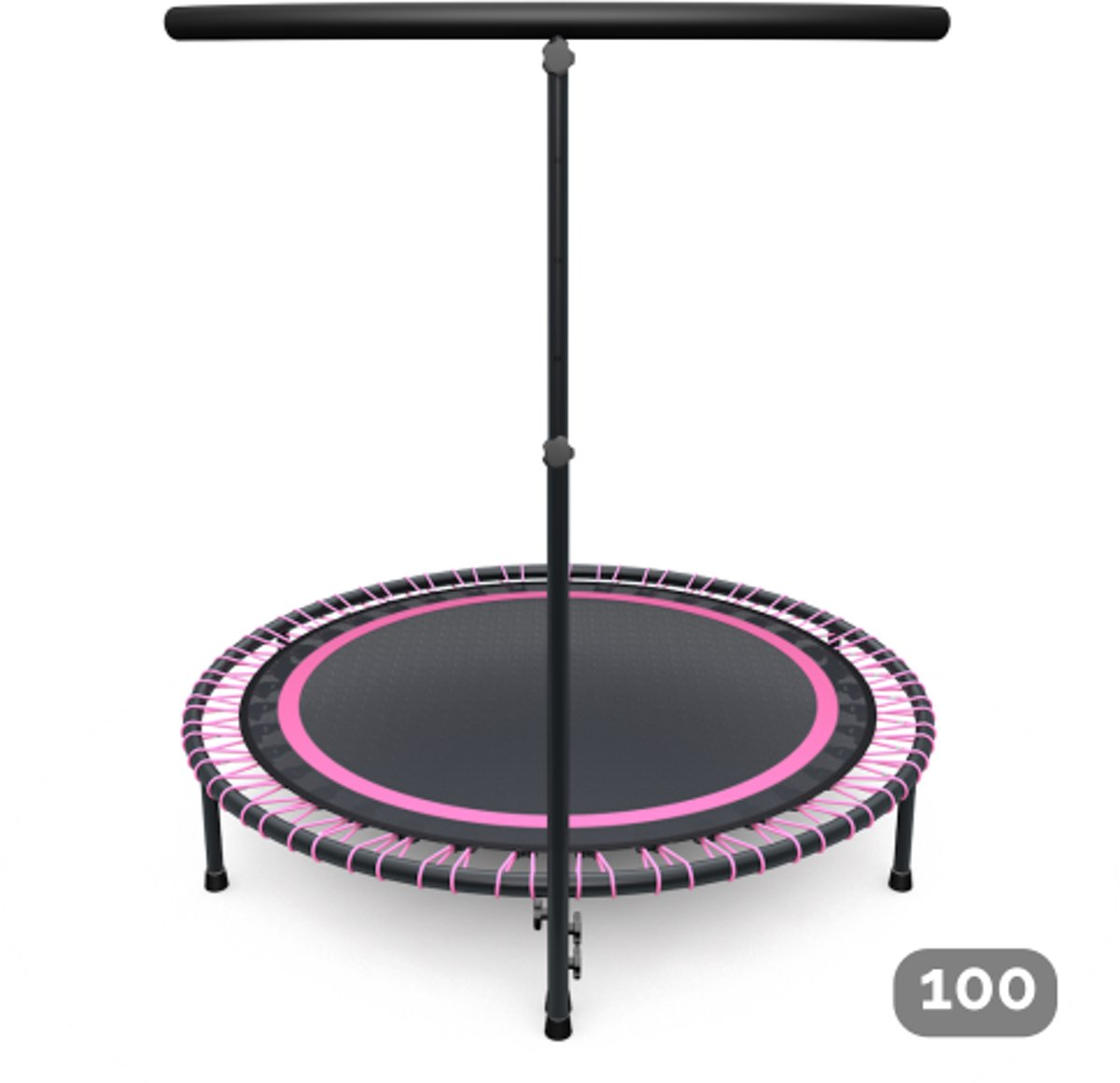 Flexbounce mini-trampoline roze