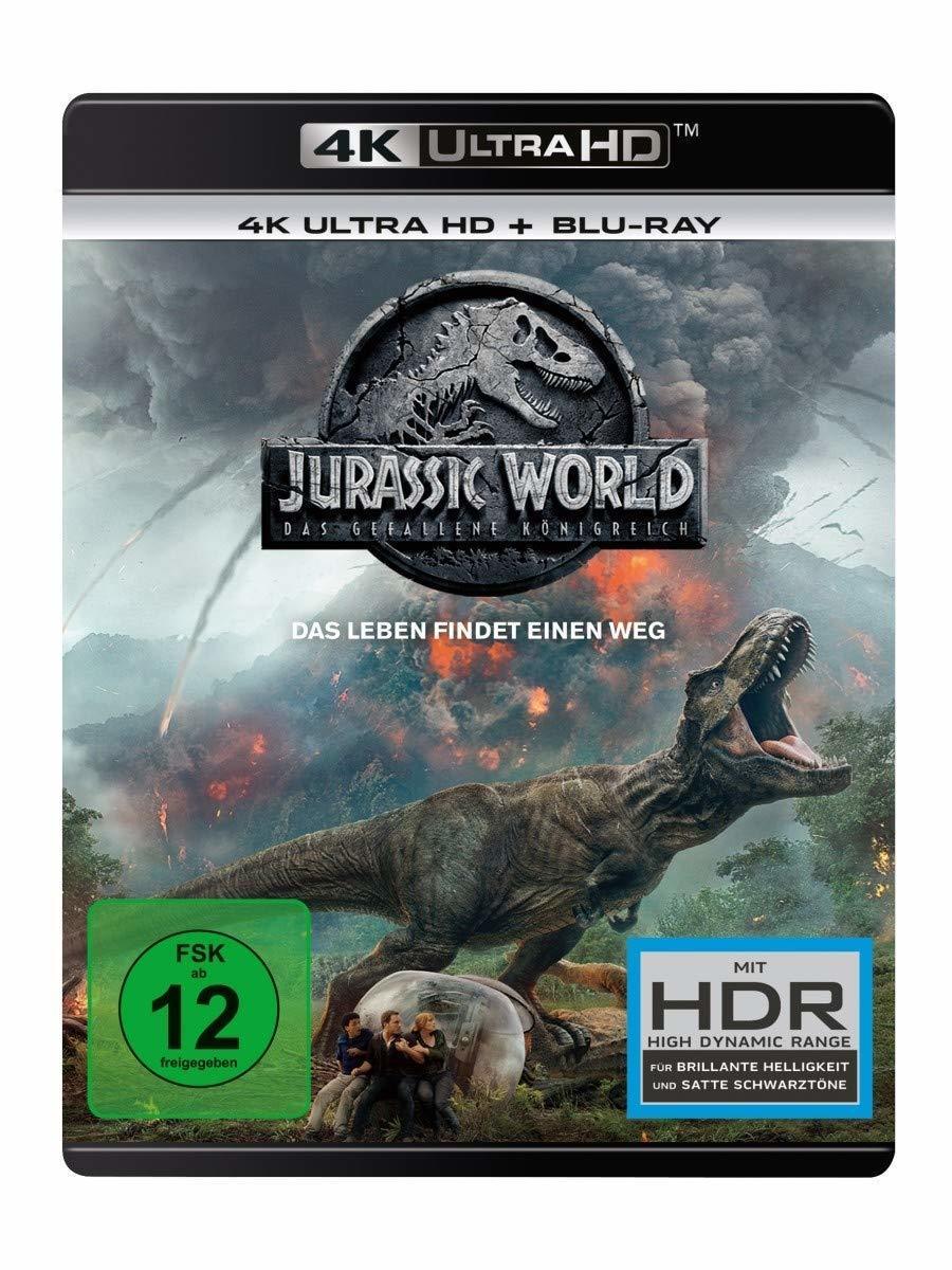 Jurassic World: Fallen Kingdom (2018) (Ultra HD Blu-ray & Blu-ray)-