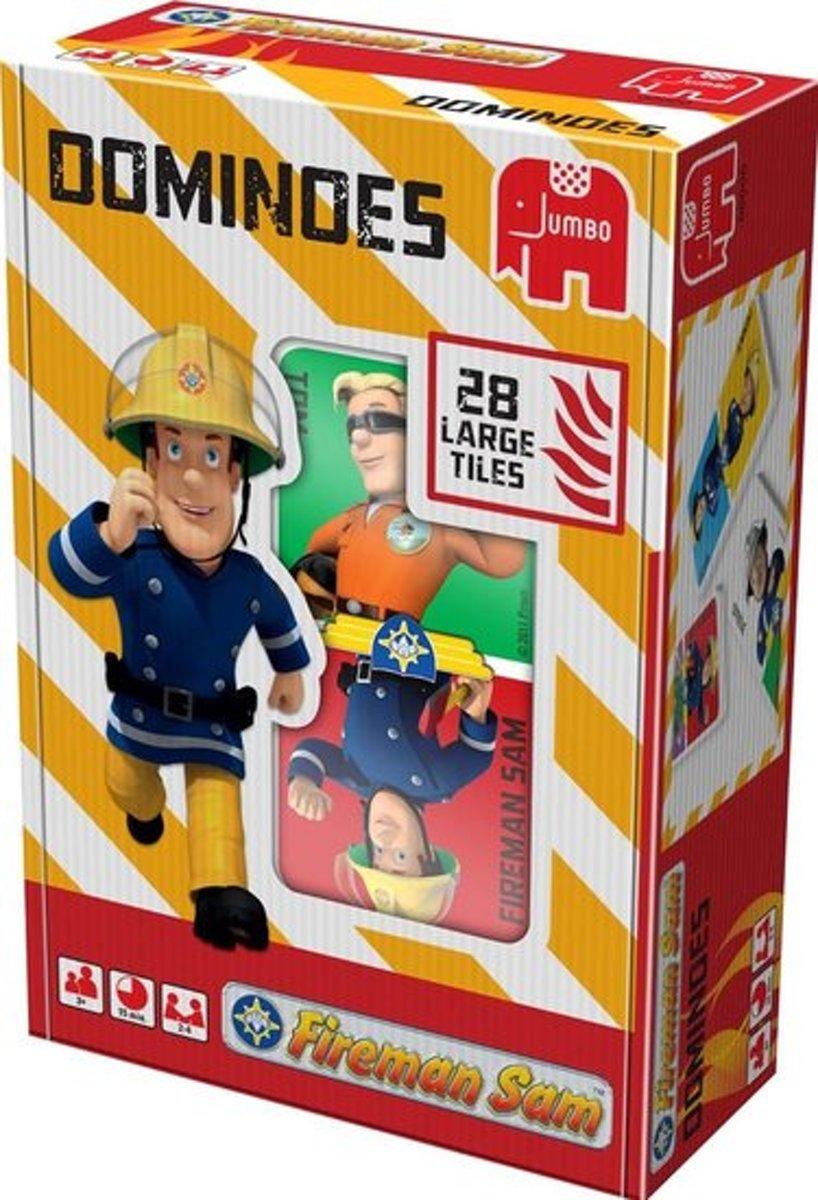 Brandweerman Sam Domino kunststof stenen