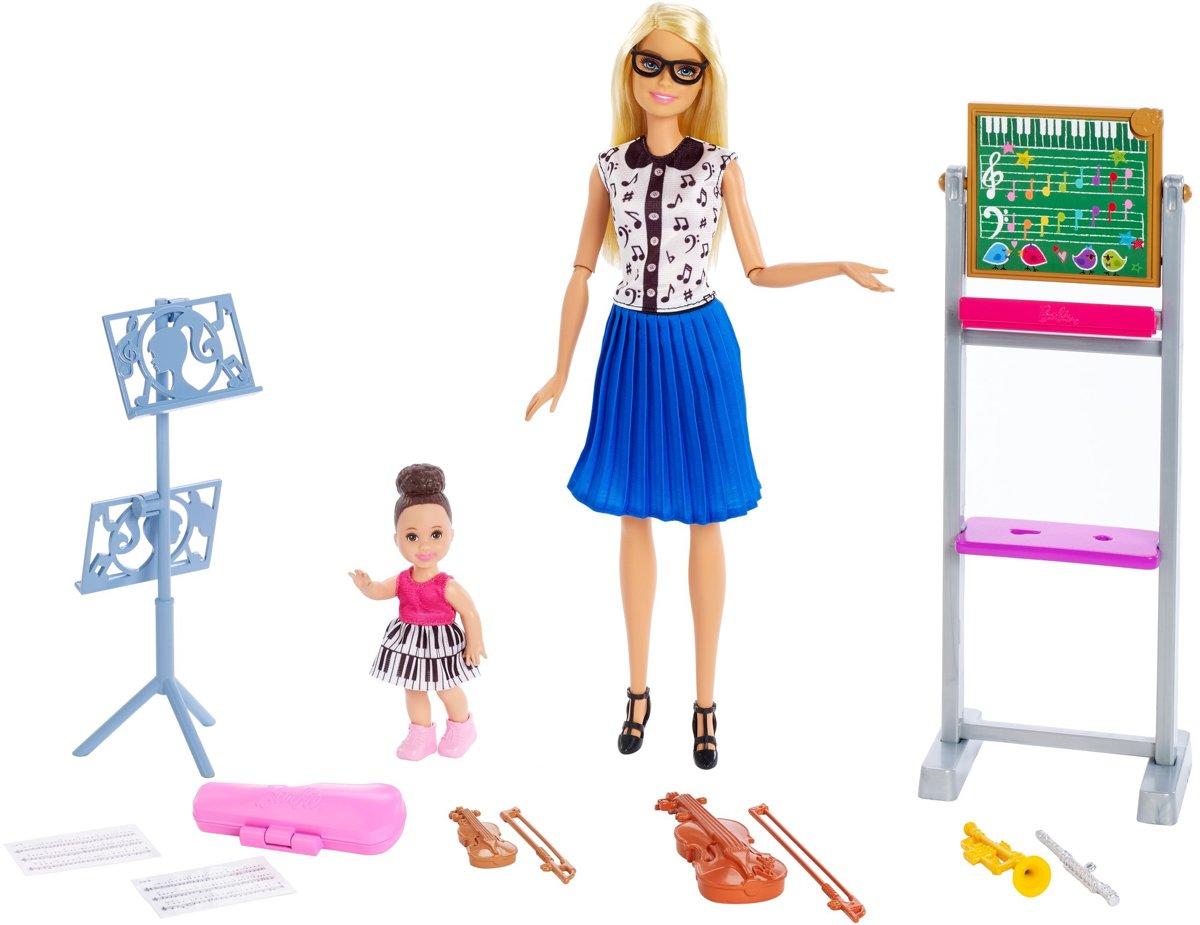 Barbie Careers Muzieklerares - Barbiepop