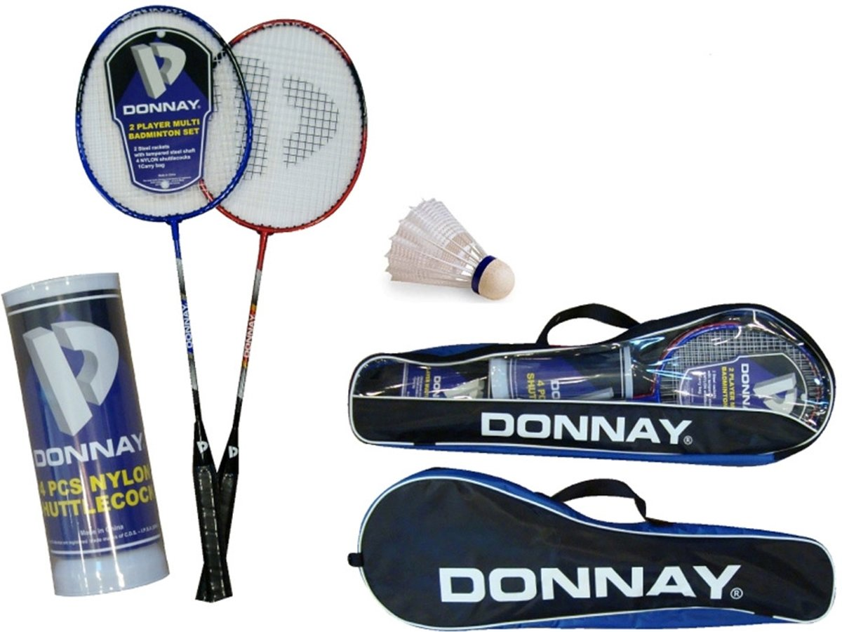 Donnay 2-Player Badmintonset
