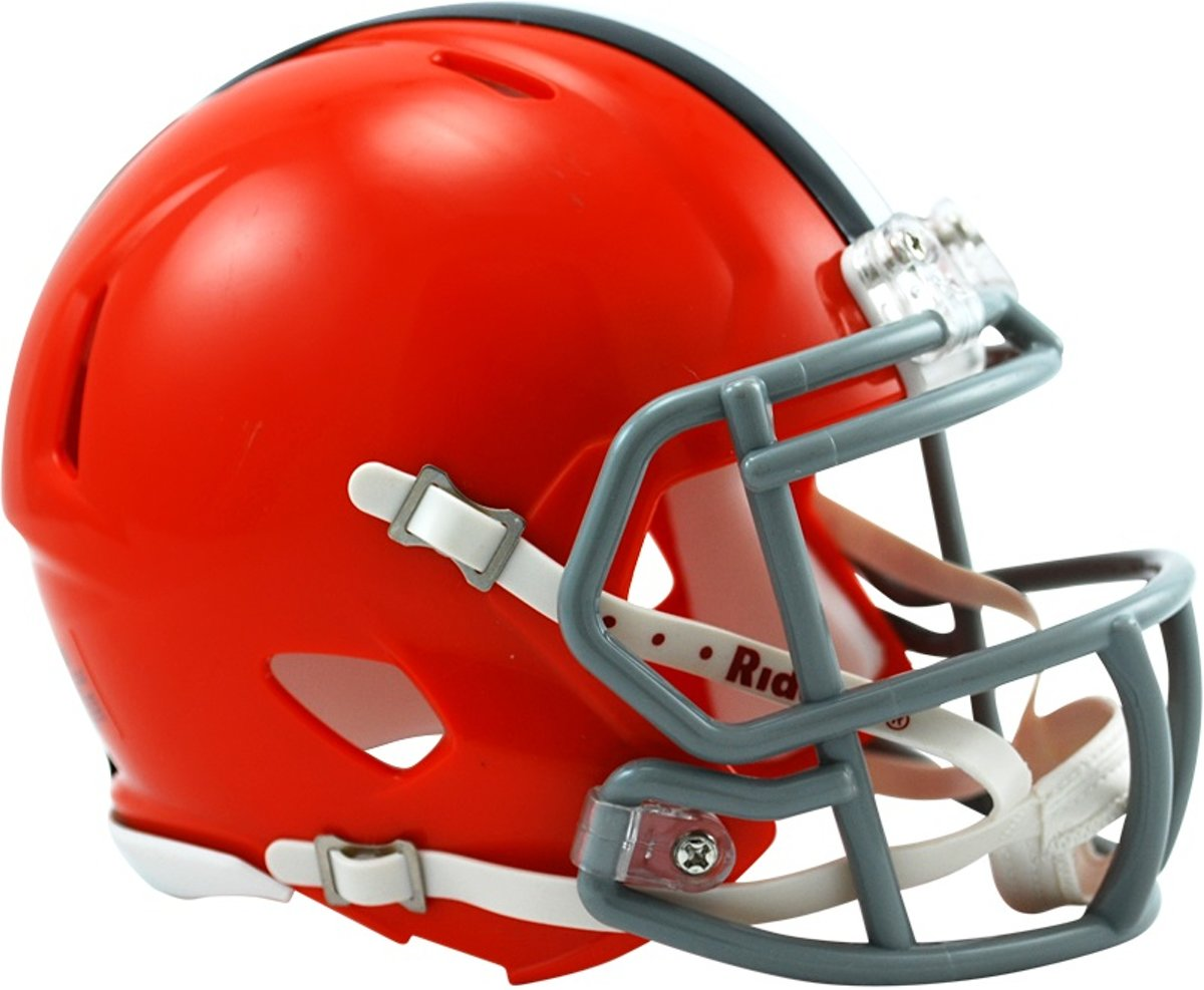 Riddell Replica Mini American Football Helm Browns
