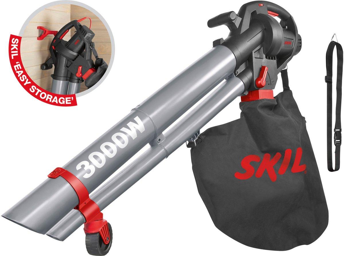 Skil 0796 AA Bladblazer - 3000 Watt - Met 45 liter opvangzak