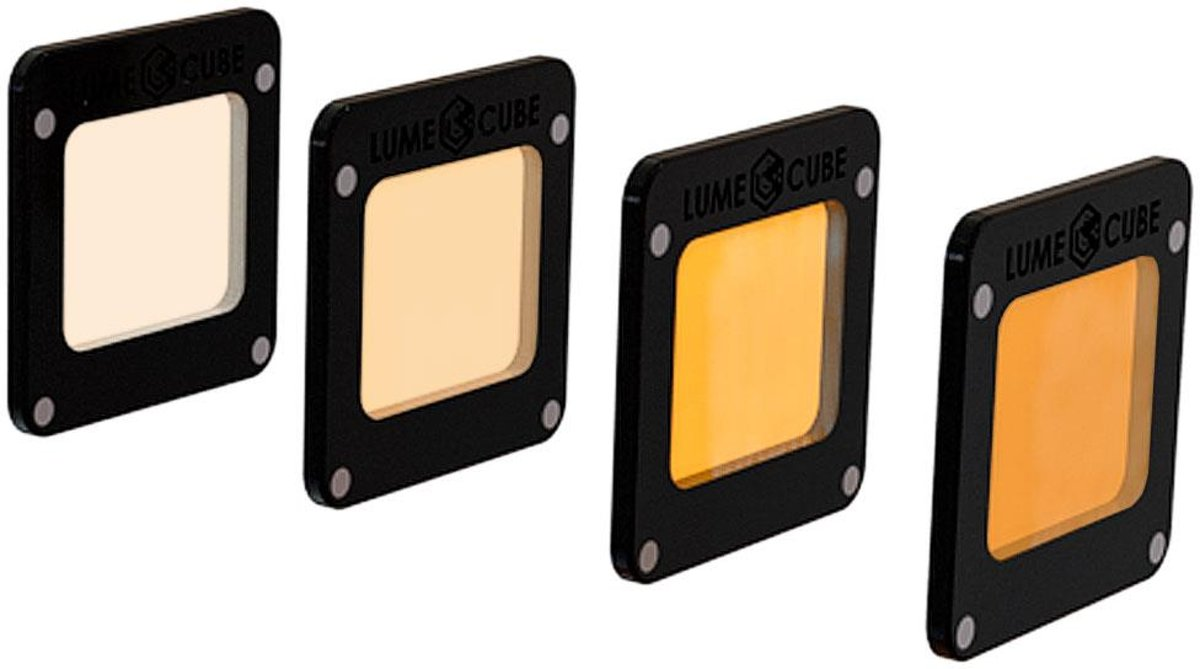 LUMECUBE CTO (Color Temperature Orange) Light-House Gel 4-pack kopen