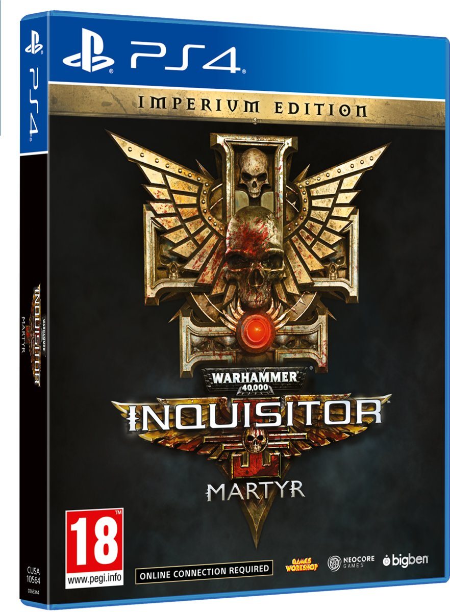 Warhammer 40K Inquisitor Martyr - Imperium Edition PlayStation 4