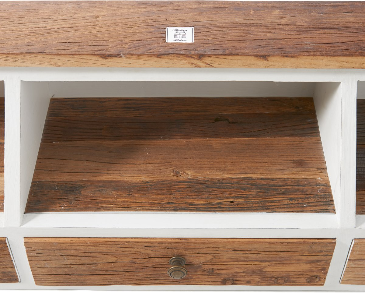 Bol rivièra maison driftwood office desk organiser bureau