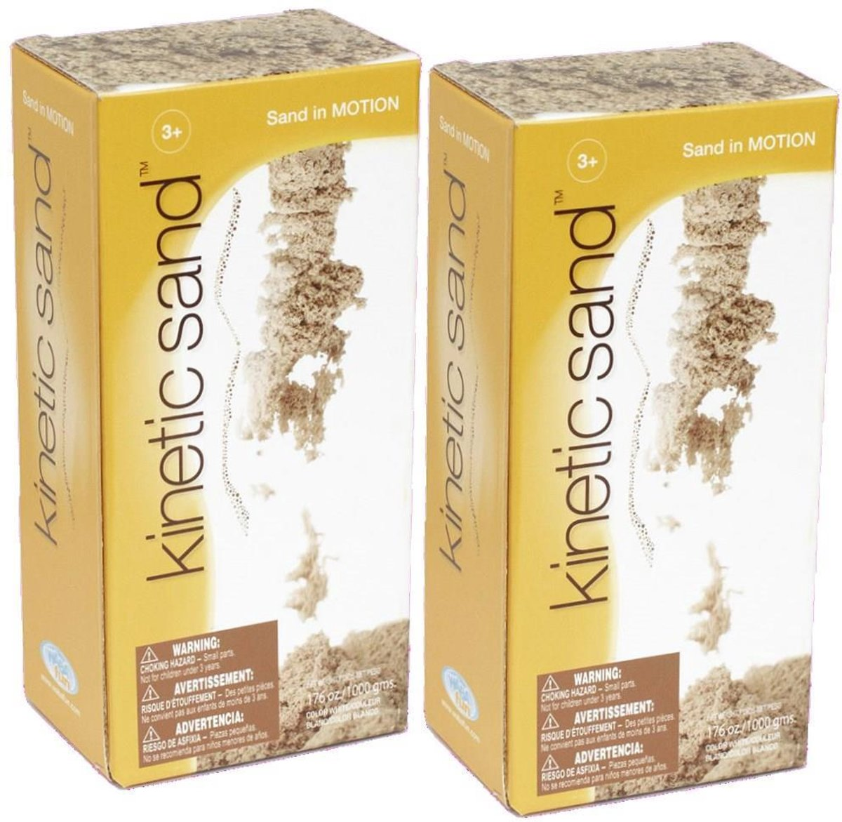 Plustoys Kinetic Sand 2 x 1Kg