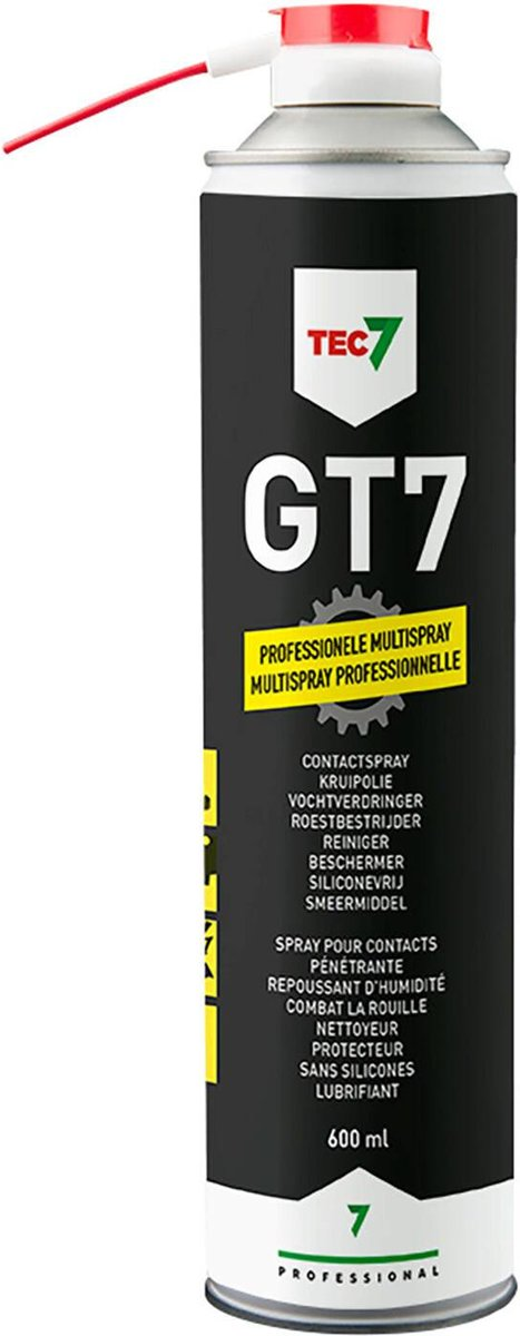 Voorkeur bol.com | Tec7 multifunctionele spray - GT7 600ml - spuitbus FA04