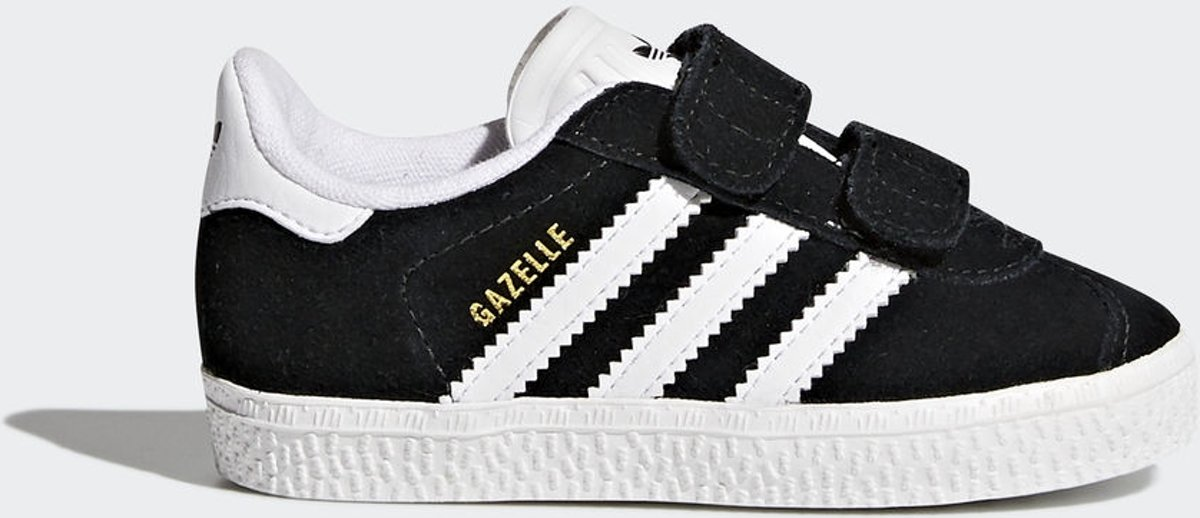 premium selection cb53e d5f8e bol.com  adidas Gazelle CF I Sneakers Kinderen - Core BlackFtwr WhiteFtwr  White